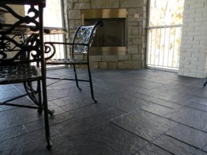stamped concrete indoor Seattle