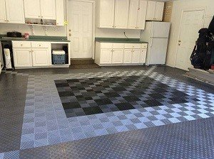 snap together tile garage floor