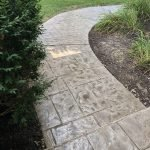 stamped concrete walkway seattle