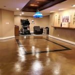 stained concrete floors seattle