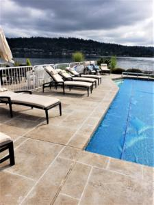 stamped concrete pool deck seattle