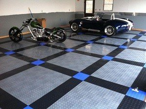 flexible interlocking tile garage floor