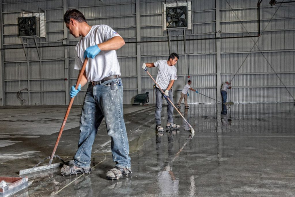 epoxy-cleaning