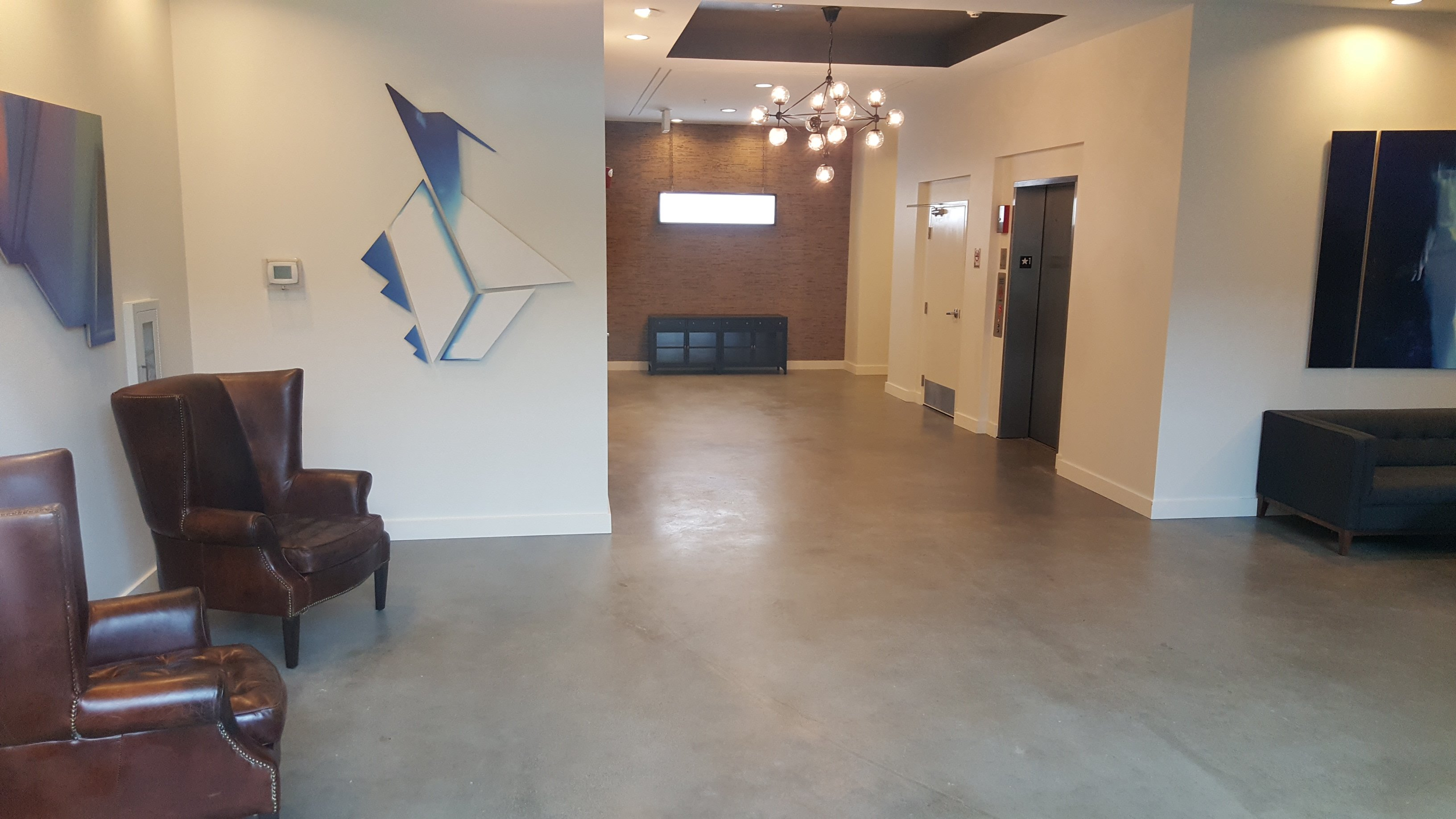 Choosing the right polished concrete color for your home for Residential concrete floor wax