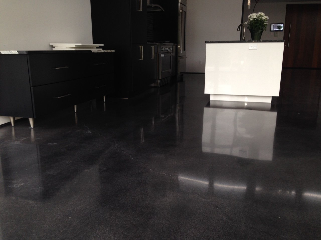 Polished Concrete Vs Tiles Northwest Concrete Resurfacing