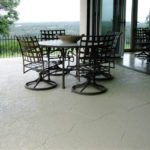 decorative concrete patio seattle