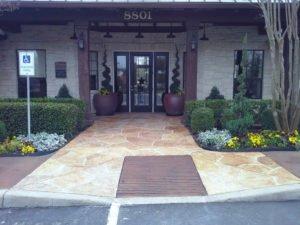 decorative entryway