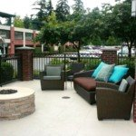 concrete patio resurfaced seattle