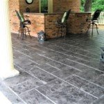 concrete patio stamp seattle