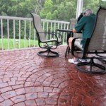 concrete patio stamping seattle
