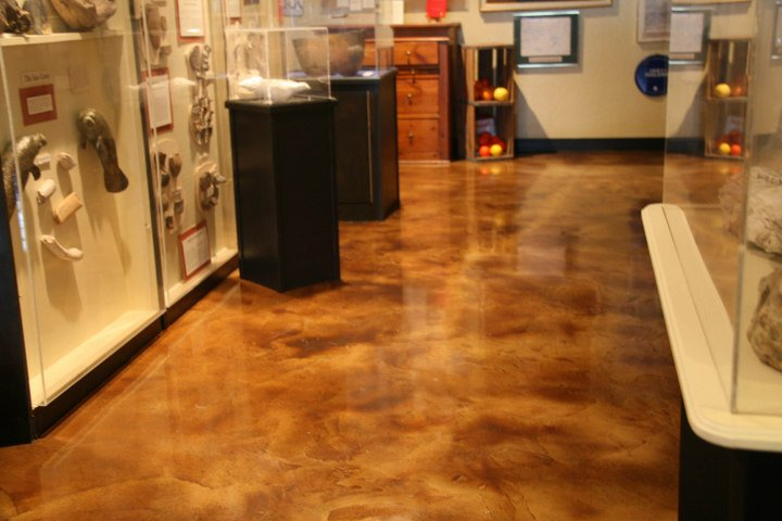 Seattle Stained Concrete Contractor Water Based Acid Stains