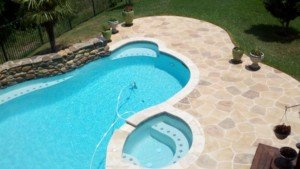 decorative pool deck Seattle