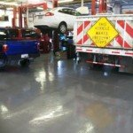 epoxy garage floor Seattle WA