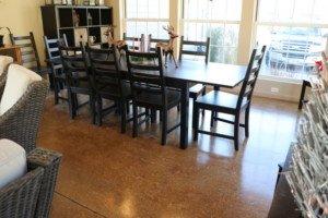 interior floor staining Seattle