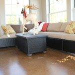 staining interior floors Seattle
