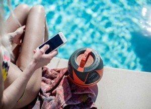 swimming pool portable sound speaker