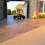 concrete driveway stamping seattle