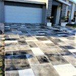 concrete driveway sunstamp seattle