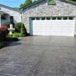 stamped concrete driveway installation seattle
