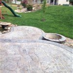 stamped concrete patio seattle