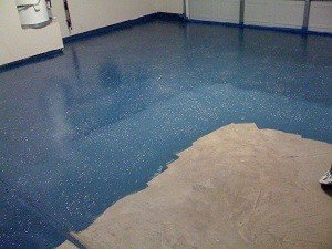 concrete paint garage floor