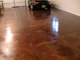 concrete stain garage floor