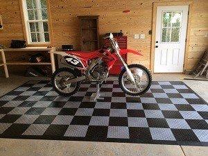 rollout mat garage floor