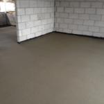 air-drying concrete
