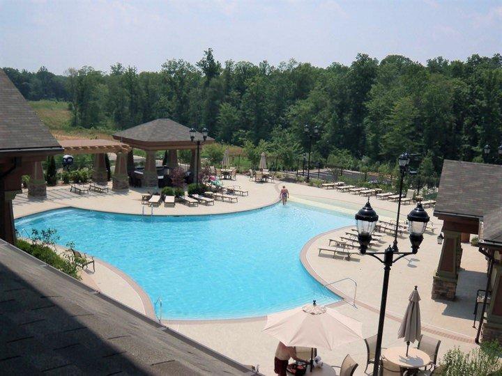 commercial pool decks