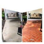 colored concrete patio seattle