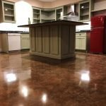 concrete floor stain seattle