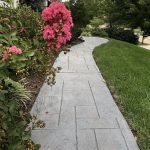 decorative concrete walkway seattle