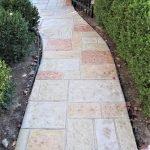 stamped concrete walkway installation seattle